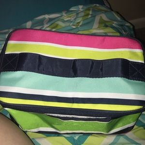 A thirty one make up bag only used once